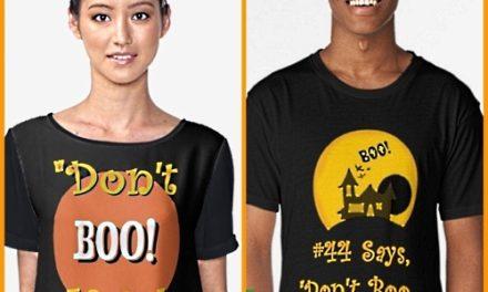 """Halloween Fun – """"Don't Boo, Vote!"""""""