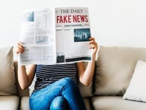 Financial Aid and Fake News