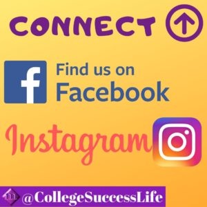 College Success Life Social Media Contact