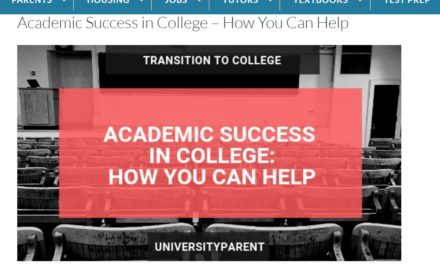 Preparing for Academic Success in College
